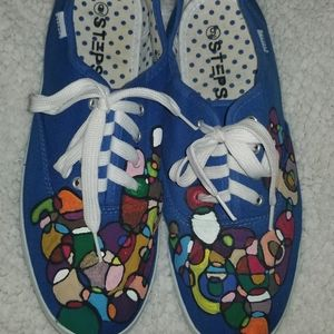 One Of A Kind Abstract Lace Ups